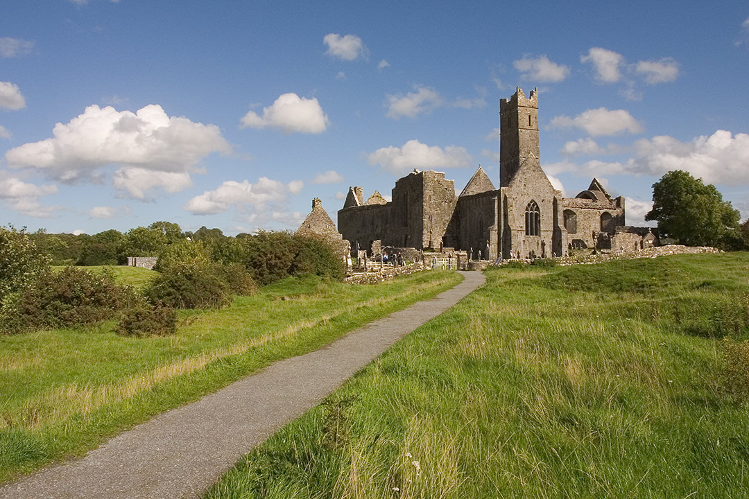 quin abbey co clare